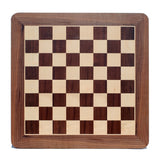 Grand Staunton Chess Set & Wooden Box – Tournament Size Weighted Pieces & Walnut Board – 19 in. - American Chess Equipment