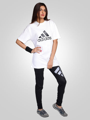 Gym Trouser & Tee Suit by Adidas