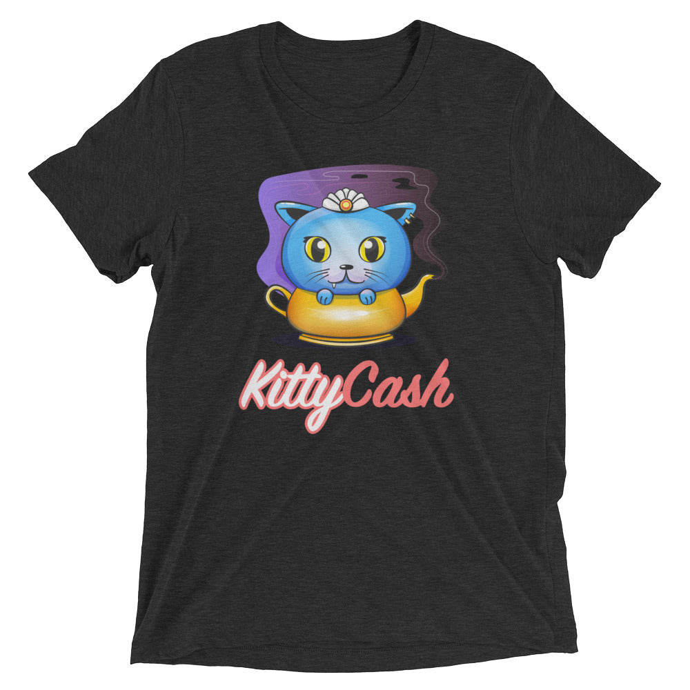 Kitty Cash Genie Tri-Blend Short Sleeve T-Shirt