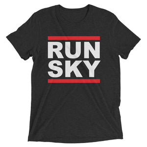 Run Sky Tri-Blend Short Sleeve T-Shirt