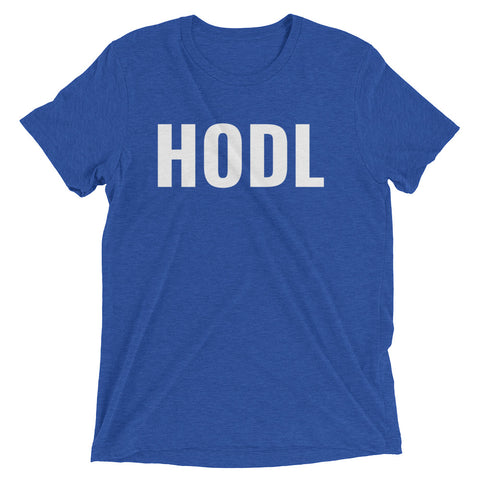 HODL Tri-Blend Short Sleeve T-Shirt