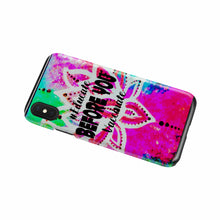 Load image into Gallery viewer, Neon Lotus Educate Before You Vaccinate Phone Case