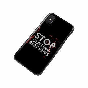 BloodStained Men Anti-RIC Black Phone Case