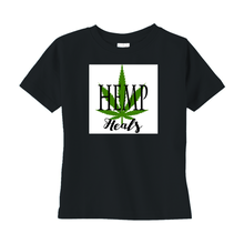Load image into Gallery viewer, Hemp Heals CBD Unisex T-Shirts (Toddler Sizes)