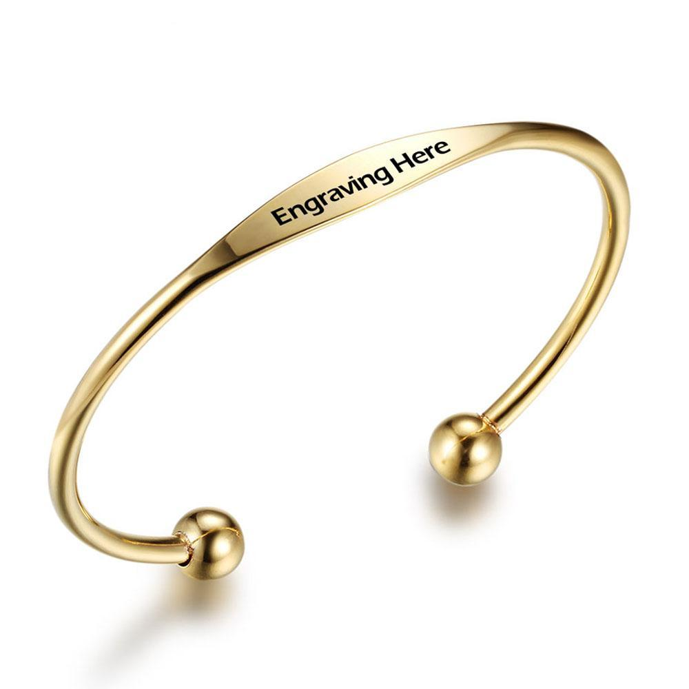 Penelope's Custom Engrave Name Bracelet Bangle