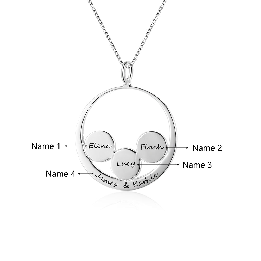 Penelope's Together Forever Custom Engrave Name Necklace
