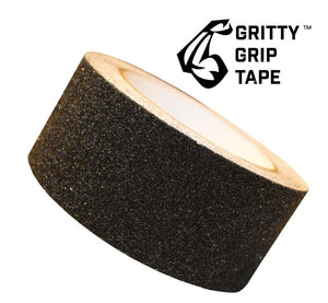 "Gritty Grip Tape - Anti Slip Traction Tape (2"" x 196"") Black"