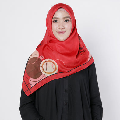 Ashlyn Scarf Red