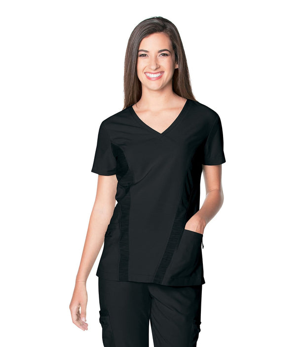 9061<br> WOMENS QUICK COOL V NECK TOP