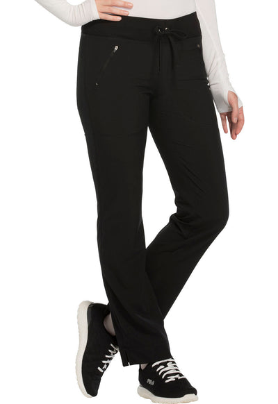 CK100AT<br> Mid Rise Tapered Leg Drawstring Pants (Tall)