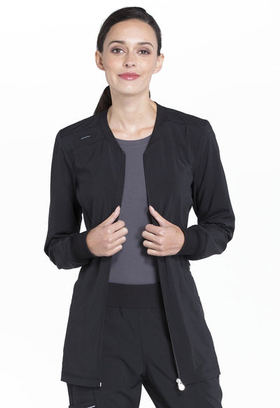 CK370A<br> Zip Front Warm-Up Jacket