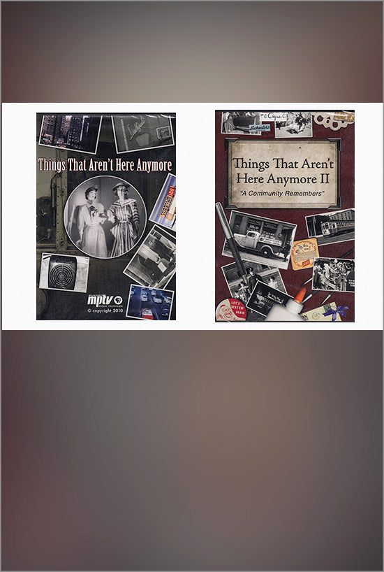 Things That Aren't Here Anymore 1 & 2 DVD - PRICE INCLUDES SHIPPING