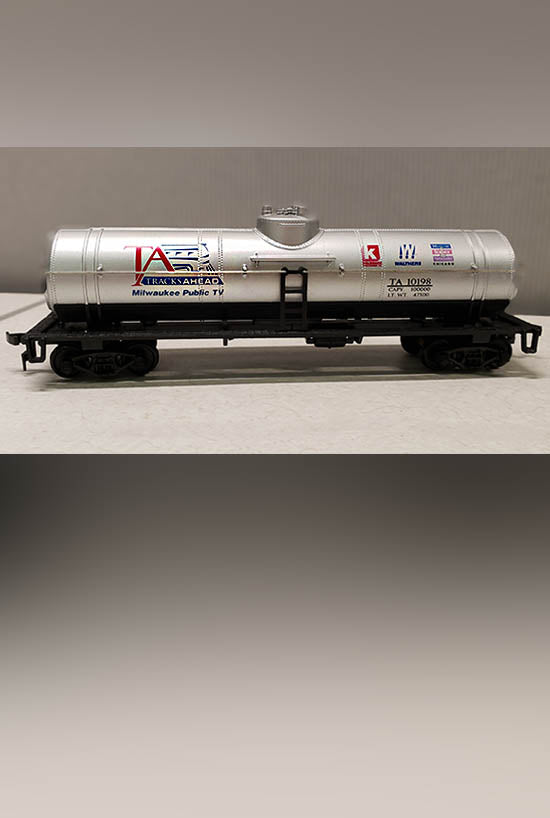 Tracks Ahead Logo Tank Car (HO Scale) - PRICE INCLUDES SHIPPING