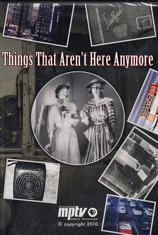 Things That Aren't Here Anymore DVD - PRICE INCLUDES SHIPPING