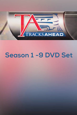 Tracks Ahead Season 1 - 9 DVD Set PRICE INCLUDES SHIPPING