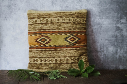 Wool Kilim Pillow - Old Grace Gathering Co.