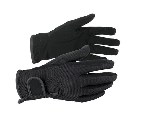 Horze Multi Stretch Riding Gloves Black