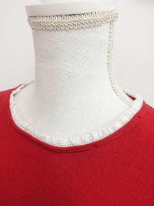 Lantern tops (red) - Poupee Boutique