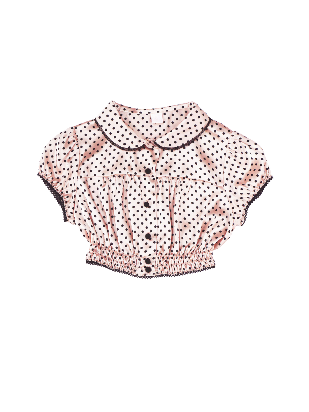 Fifi Chachnil dot tops (pink) - Poupee Boutique