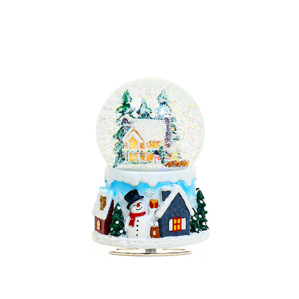 Crystal Ball Snow Christmas Eve - Idea Gift