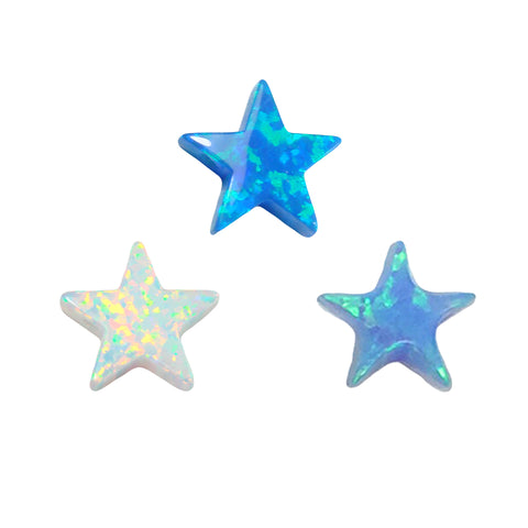 opal star charms