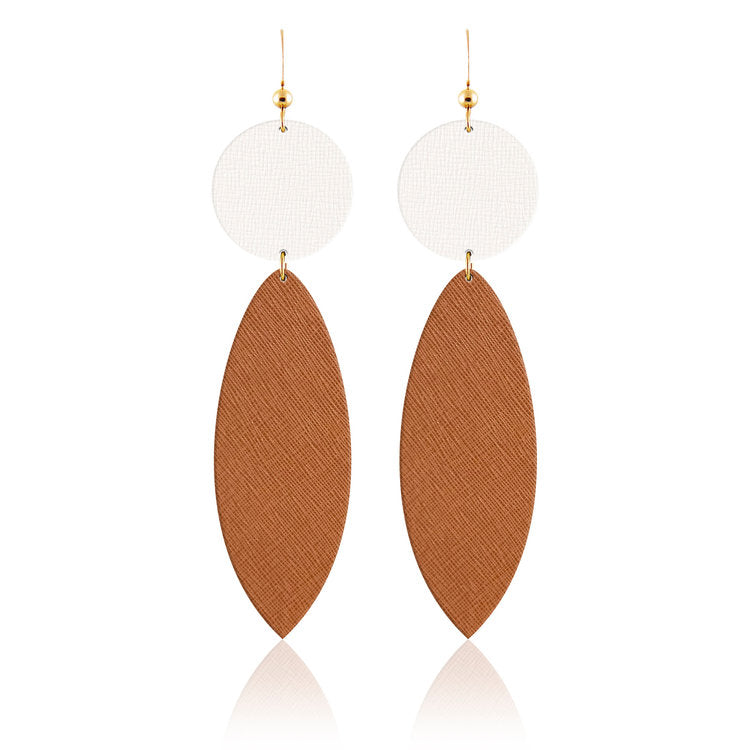 Surf Bauble Leather Earrings