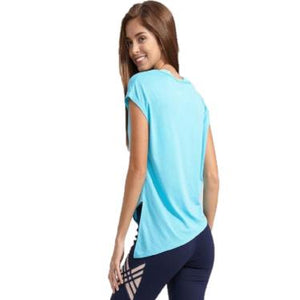Yoga shirt gym workout wear
