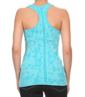Turquoise Racerback Tank Top