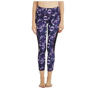 Front View Leggings Floral Print Comfortable Cheap