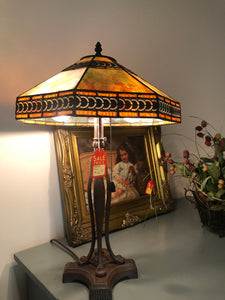 Tiffany Pearl Lamp (Broken Pull) - Ensley Fairfield Mattress Co.