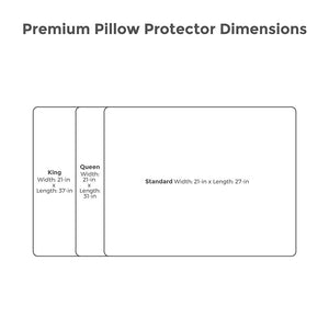 Premium Pillow Protector - Ensley Fairfield Mattress Co.