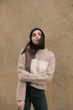 JOSEF SWEATER WHEAT