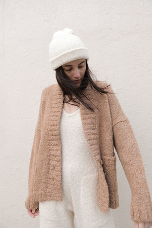 HARRIET CARDIGAN CHESTNUT