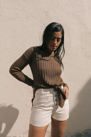 EVE SWEATER OCHRE