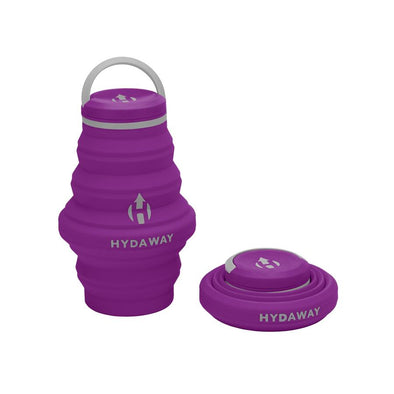 Hydaway Collapsible Bottle Plum
