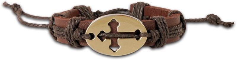 Sideways Cross 2 Bracelet
