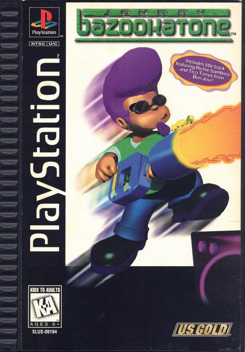 Johnny Bazookatone - PlayStation 1
