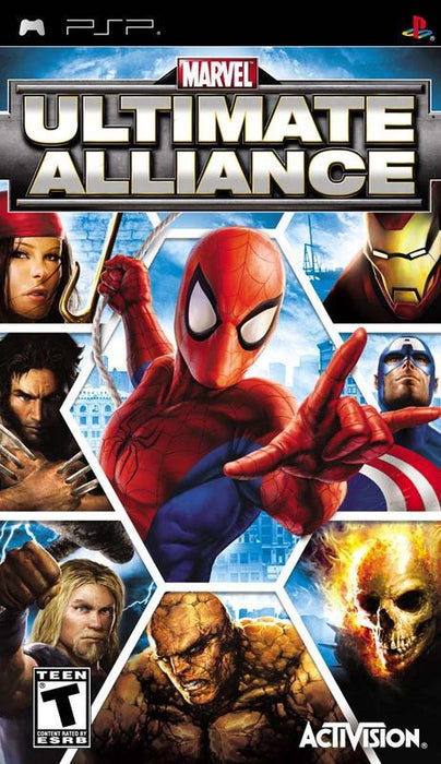 Marvel Ultimate Alliance - PlayStation Portable