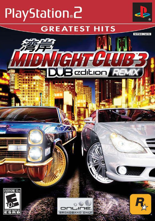 Midnight Club 3 DUB Edition Remix - PlayStation 2