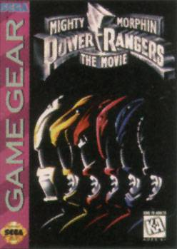 Mighty Morphin Power Rangers The Movie - Sega Game Gear
