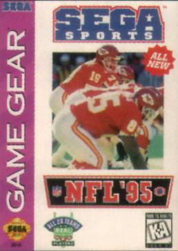 NFL 95 - Sega Game Gear