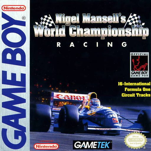 Nigel Mansells World Championship Racing - Game Boy