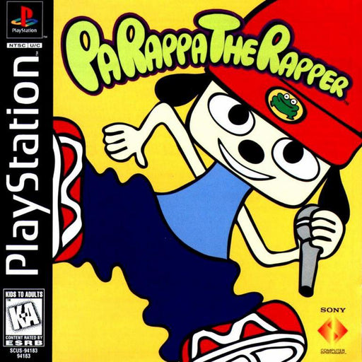 PaRappa the Rapper - PlayStation 1