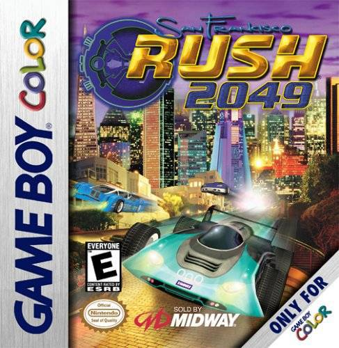 San Francisco Rush 2049 - Game Boy Color