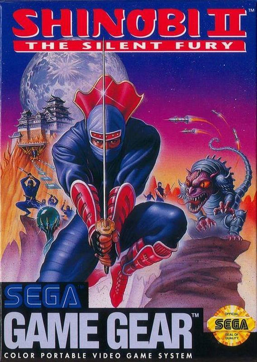 Shinobi II The Silent Fury - Sega Game Gear