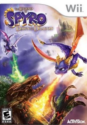 The Legend of Spyro Dawn of the Dragon - Wii