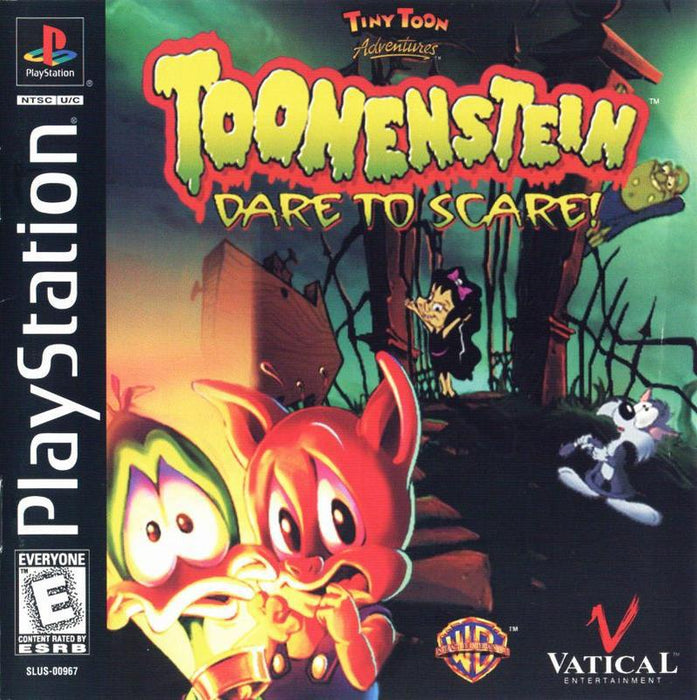 Tiny Toon Adventures Toonenstein -- Dare to Scare - PlayStation 1