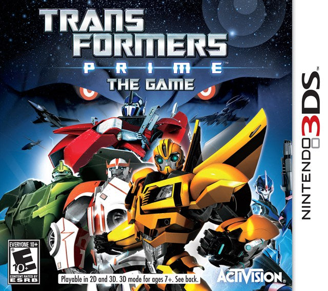 Transformers Prime The Game - Nintendo 3DS
