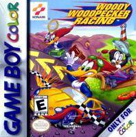 Woody Woodpecker Racing - Game Boy Color