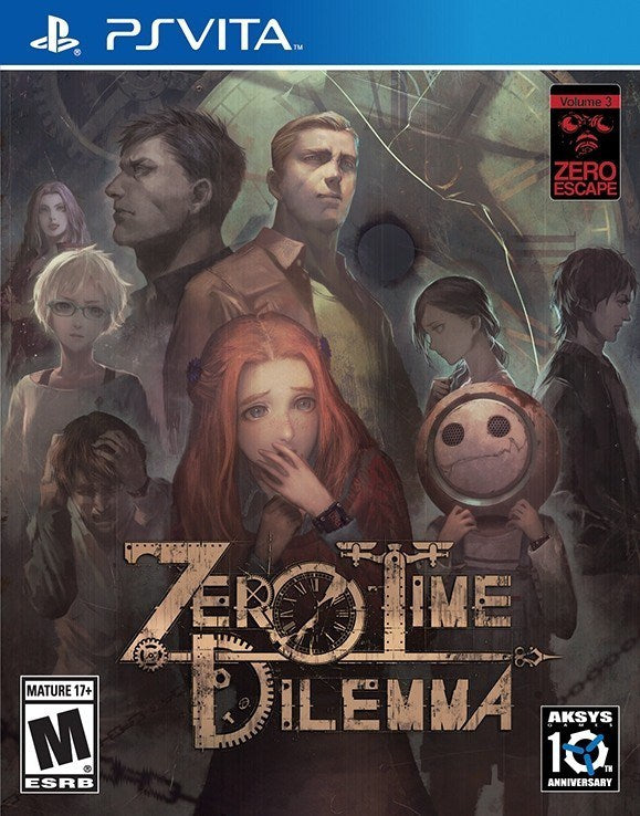 Zero Escape Zero Time Dilemma - PlayStation Vita